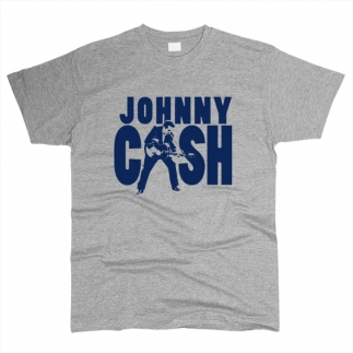 Johnny Cash 01 - Футболка мужская