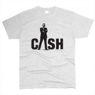 Johnny Cash 02 - Футболка мужская