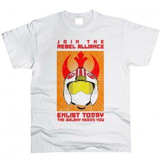 Join Rebel Alliance 01 - Футболка мужская
