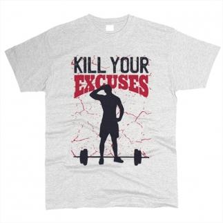 Kill Your Excuses 01 - Футболка мужская