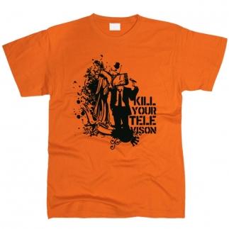 Kill Your TV - футболка мужская