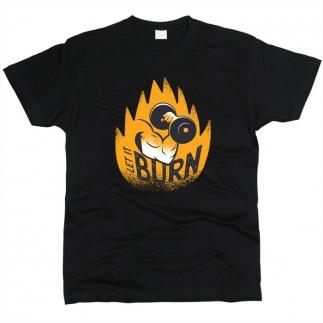 Let It Burn 01 - Футболка мужская