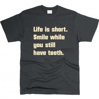 Life Is Short - футболка мужская