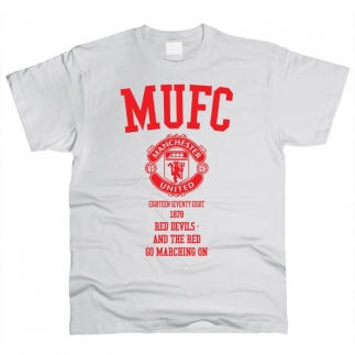 Manchester United 04 - Футболка мужская