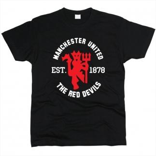 Manchester United 01 - Футболка мужская
