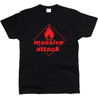 Massive Attack 02 - Футболка мужская
