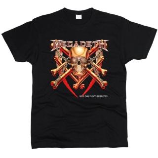 Megadeth 01 - Футболка мужская