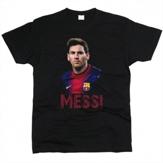 Messi 01 - Футболка мужская