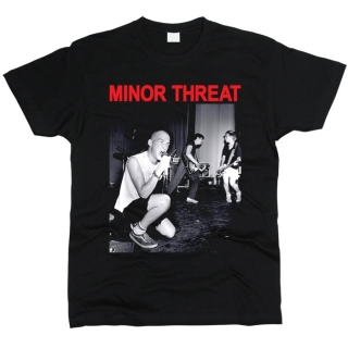 Minor Threat 07 - Футболка мужская