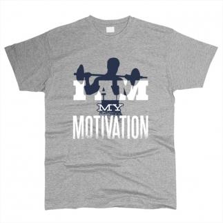 I Am My Motivation 01 - Футболка мужская