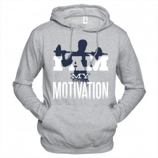 I Am My Motivation 01 - Толстовка мужская