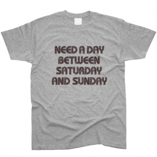 Need A Day - футболка мужская