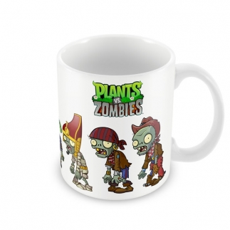 Чашка Plants vs Zombies 01