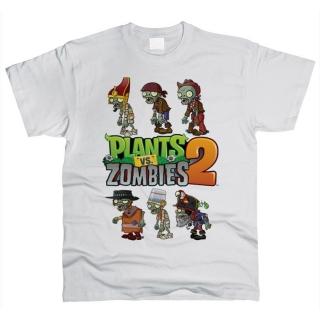 Plants vs Zombies 02 - Футболка мужская