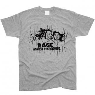 Rage Against The Machine 01 - Футболка мужская