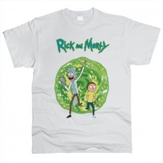 Rick And Morty (Рик и Морти) 01 - Футболка мужская