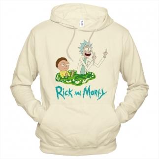 Rick And Morty (Рик и Морти) 03 - Толстовка мужская