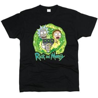Rick And Morty (Рик и Морти) 04 - Футболка мужская