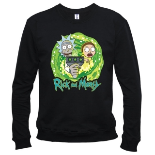 Rick And Morty (Рик и Морти) 04 - Свитшот мужской