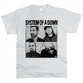 System Of A Down 04 - Футболка мужская