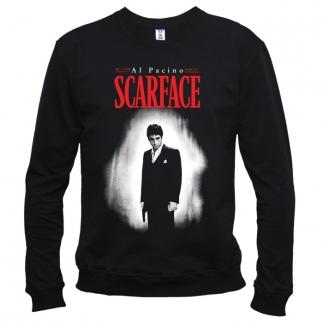 Scarface (Лицо со шрамом) 01 - Свитшот мужской