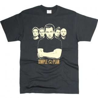 Simple Plan 01 - Футболка мужская