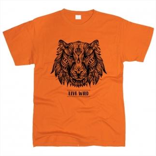 Тигр 01 - Футболка мужская