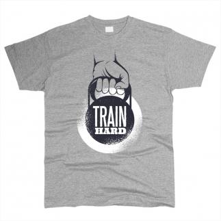 Train Hard 02 - Футболка мужская