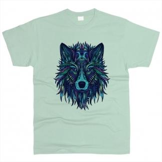 Волк 02 - Футболка мужская