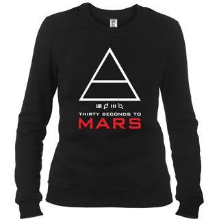 30 Seconds To Mars 06 - Свитшот женский