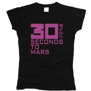 30 Seconds To Mars 03 - Футболка женская