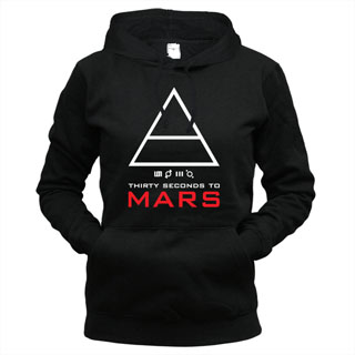 30 Seconds To Mars 06 - Толстовка женская