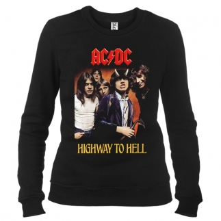 AC/DC 04 - Свитшот женский