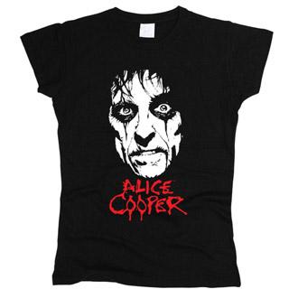 Alice Cooper 02 - Футболка женская