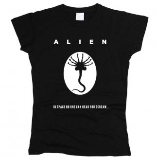 Alien 02 - Футболка женская