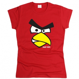 Angry Birds 01 - Футболка женская