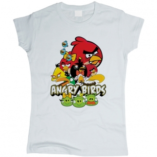 Angry Birds 05 - Футболка женская