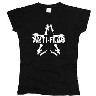 Anti-Flag 01 - Футболка женская