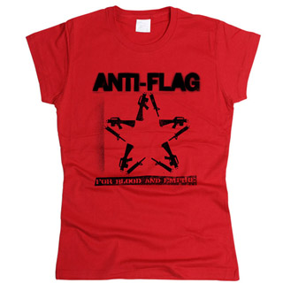 Anti-Flag 02 - Футболка женская
