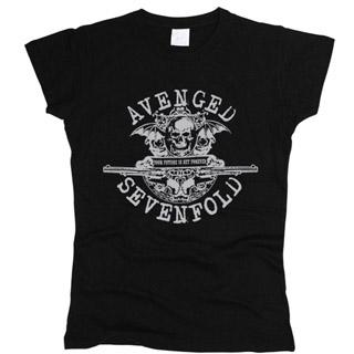 Avenged Sevenfold 02 - Футболка женская