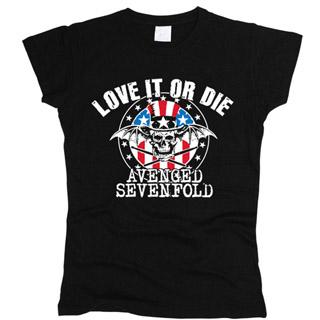 Avenged Sevenfold 03 - Футболка женская