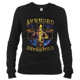 Avenged Sevenfold 05 - Свитшот женский
