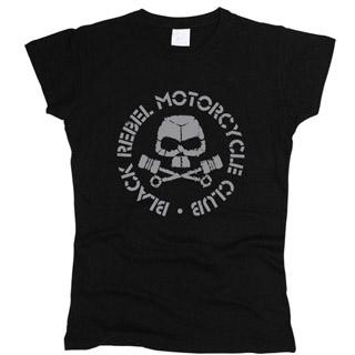 Black Rebel Motorcycle Club 01 - Футболка женская