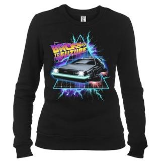 Back To The Future 04 - Свитшот женский