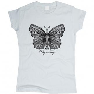 Бабочка 01 - Футболка женская
