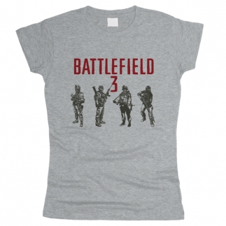 Battlefield 01 - Футболка женская