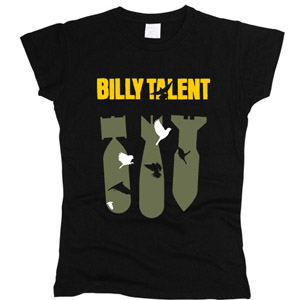 Billy Talent 02 - Футболка женская