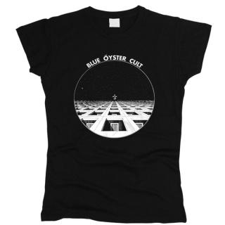 Blue Oyster Cult 01 - Футболка женская