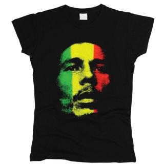 Bob Marley 06 - Футболка женская