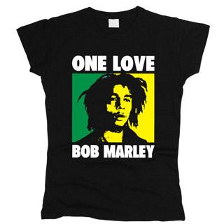 Bob Marley 04 - Футболка женская